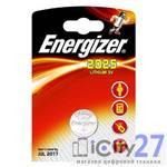 Батарейка Energizer Miniatures Lithium CR2025, 1 шт.