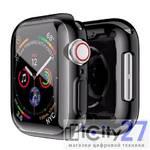 Чехол для Apple Watch Series 4 44mm Dixico PC Case Black