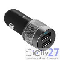 Автомобильное зарядное устройство EnergEA AluDrive Aluminum Car Charger (2 USB, 4.8A)