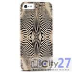 Чехол для iPhone 5/5S Just Cavalli Zebra Yellow