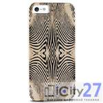 Чехол для iPhone 5/5S Just Cavalli Zebra Yellow