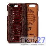Чехол для iPhone 8 Plus/7 Plus Fierre Shann Leather