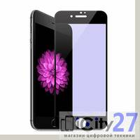 Защитное стекло для iPhone 7 Plus/8 Plus Hoco Flexible Anti-blue ray Black