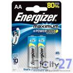 Батарейка Energizer Maximum AA, 2 шт.