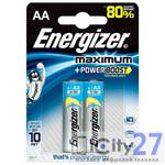 Батарейка Energizer Maximum AA, 2 шт.