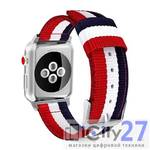 Ремешок для Apple Watch 38/40mm Tommy Helfiger 3 Color Lines