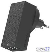 Сетевое зарядное устройство Native Union Smart 4 Charger 3.1 A Gray