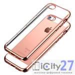 Чехол ля iPhone 5/5S/SE Handy Shine Electroplated Rose Gold