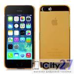 Чехол для iPhone 5/5s Momax Clear Breeze Case Yellow