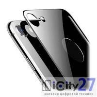 Защитное стекло для iPhone 8 Baseus 4D Arc Back Glass Film 0,3mm Space Gray