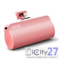 Внешний аккумулятор для iPhone iWalk 3300 mAh Sakura Pink