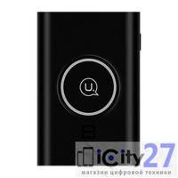 Беспроводное зарядное устройство/Внешняя батарея Usams Wireless Charging Pad+Power Bank Wish Series 8000 mAh Black