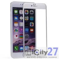Защитное стекло для iPhone 6 Plus/6S Plus Remax Color 0,2 mm Silver