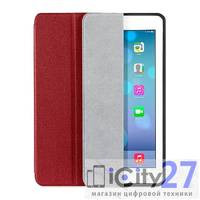 Чехол для iPad 2017/2018 (9.7) Wowcase Dark Red
