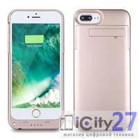 Внешняя батарея-чехол для iPhone 8 Plus/7 Plus Power Bank 4000mAh Rose