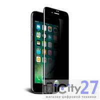 Защитное стекло для iPhone 7 Plus/8 Plus Mocoll 3D Full Cover Privacy Black