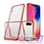 Чехол для iPhone XS Max Fant Red