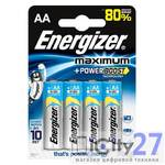 Батарейка Energizer Maximum AA, 4 шт.