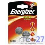 Батарейка Energizer Miniatures Lithium CR2025, 2 шт.