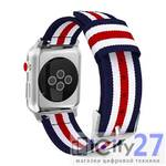 Ремешок для Apple Watch 42/44mm Tommy Helfiger 5 Color Lines