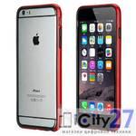 Чехол для iPhone 6 Plus Rock Borders Red