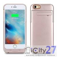 Внешняя батарея-чехол для iPhone 8/7 Power Bank 3200mAh Rose