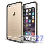 Чехол для iPhone 6 Plus Verus Iron Bumper Black/Gold