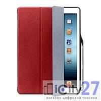 """Чехол для iPad Pro 12.9"""" (2017) со слотом для Apple Pancil Wowcase Red"""