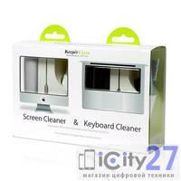 Набор для очистки экрана и клавиатуры Screen Cleaner Techlink Advanced
